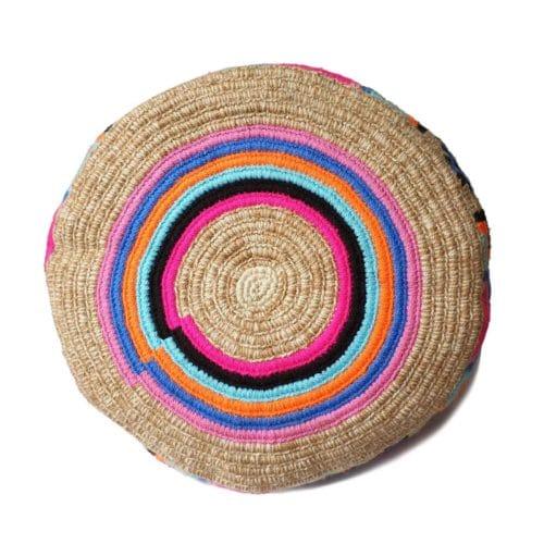 ozdobny spód torebki robiony na szydełku