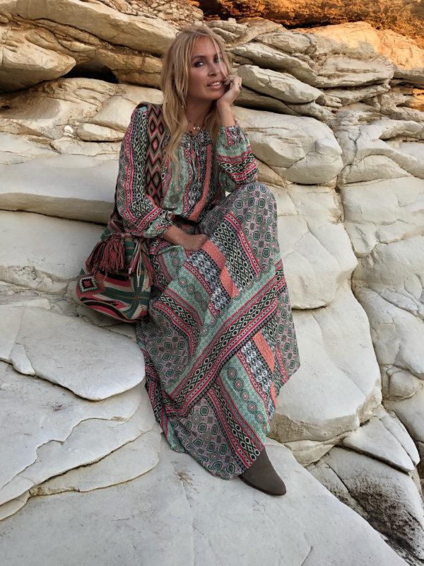 etniczn torebka modny dodatek w kobiecej szafie