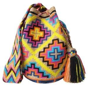 letnia torebka w krzyże mochila