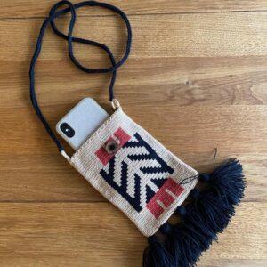 etui na telefon ręcznie robione mini torebka