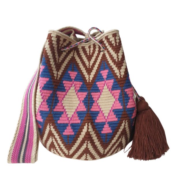 kolorowy wakacyjny worek mochila